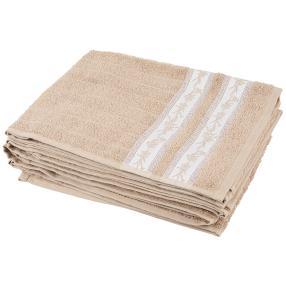 Handtuch Ranke 4er Set, beige