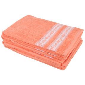 Handtuch Ranke 4er Set, apricot