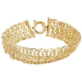 """Armband """"Unendlichkeit"""" 585 Gelbgold"""
