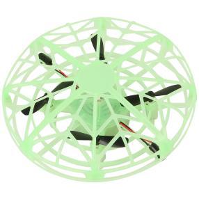 Quadrocopter Ufo 3,7V grün fluoreszierend