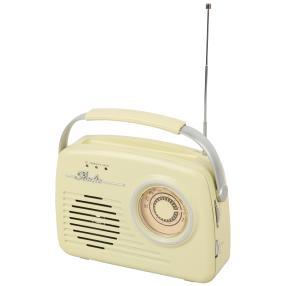 EASYmaxx Radio Retro 6V vanille
