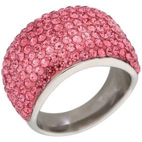 Ring Bronze Zirkonia pink