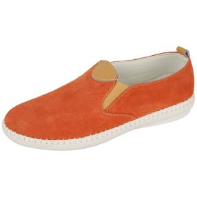 Sanital Light Damen-Slipper, cognac, orange
