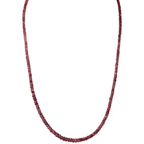 Collier Spinell rot, 925 Sterling Silber