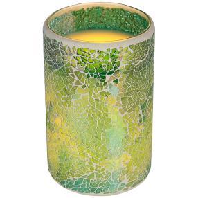 LED-Kerze grün 15 cm