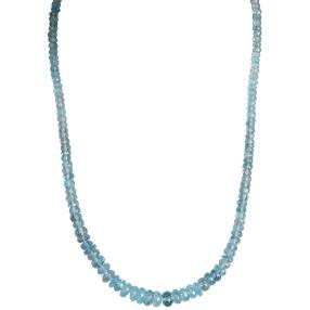 Collier Aquamarin behandelt ca. 100,00 ct
