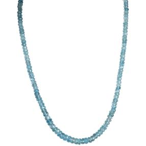 Collier Aquamarin behandelt ca. 90,00 ct