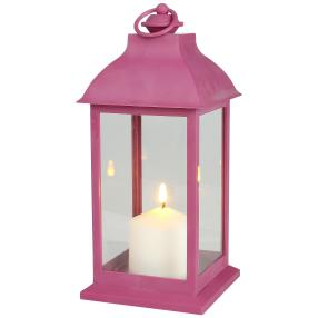 LED-Outdoor-Laterne lila