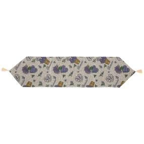 Gobelin-Tischläufer Lavendel