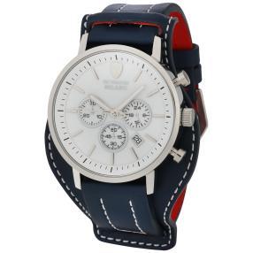 "DETOMASO Chronograph ""Milano XL"" silber-blau"