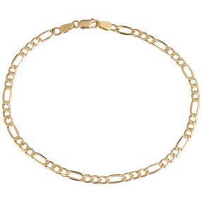 Figaro-Armband, 750 Gelbgold