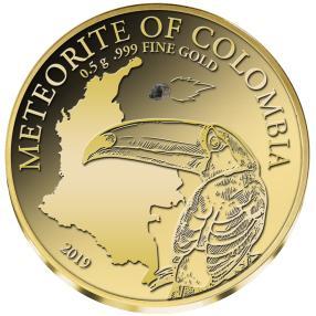 Golden Meteorite Kolumbien