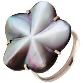 Ring 925 St. Silber Abalone Blüte