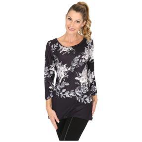 BRILLIANT SHIRTS Shirt 'Cantu' schwarz/weiß/grau
