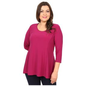 CANDY CURVES Longshirt magenta