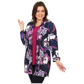 CANDY CURVES Longcardigan multicolor