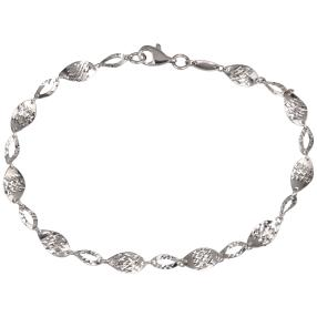 Armband 925 Sterling Silber rhodiniert