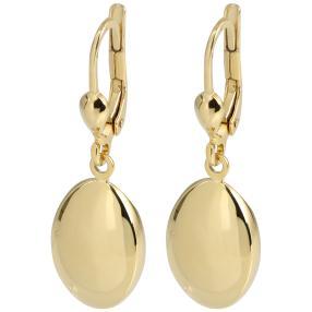 Ohrhänger 925 Sterling Silber vergoldet