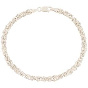 Königsarmband 925 Sterling Silber