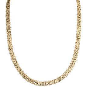 Königskette 750 Gelbgold, ca. 45 cm
