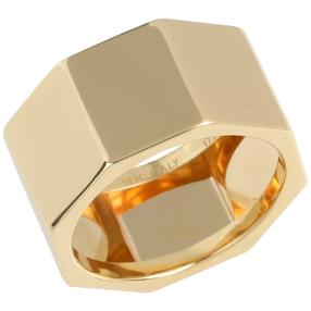 Ring Octagon 585 Gelbgold