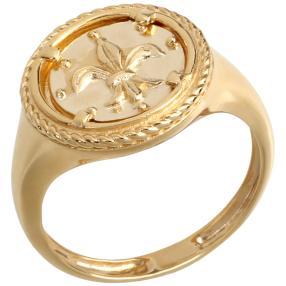 Ring Florentinerlilie 585 Gelbgold