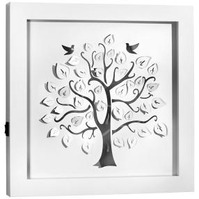 LED-Wandbild Lebensbaum