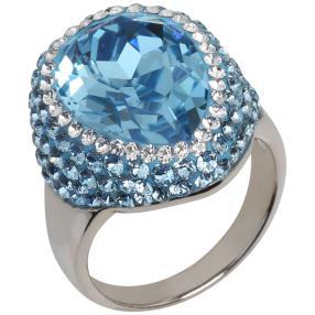 Ring 925 Sterling Silber mit Swarovski® Kristallen