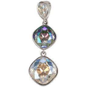 Anhänger 925 St. Silber mit Swarovski® Kristallen
