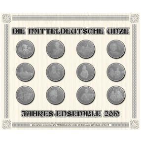 Mitteldeutsche Unze Jahresensemble 2019