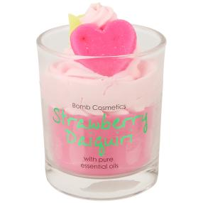 BOMB Duftkerze Erdbeerliebe rosa