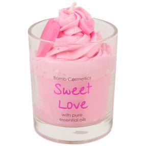 BOMB Duftkerze Zuckersüß rosa