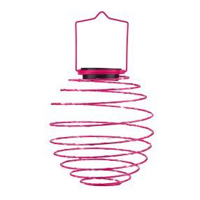 Solar Spiral-Lampion pink
