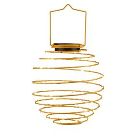 Solar Spiral-Lampion gelb