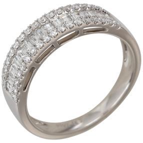 Ring 950 Platin Diamanten
