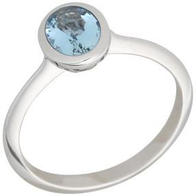 Ring 585 Weißgold Santa Maria AAAAquamarin