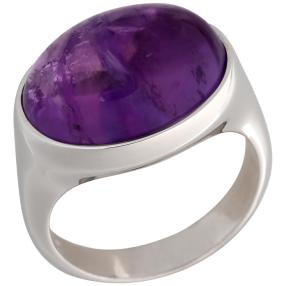 Ring 925 Sterling Silber Sambia AAAAmethyst