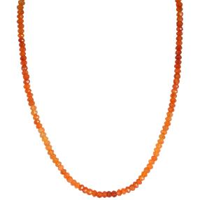 Collier AAKarneol in Orange