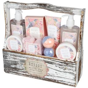 GeschenksetSECRET GARDEN Holzbox 8-teilig