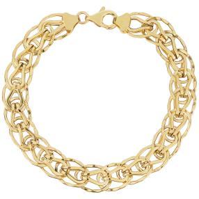 "Armband ""Fantasie"" 585 Gelbgold"