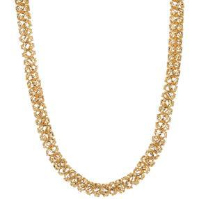 "Collier ""Phantasie"" 585 Gelbgold ca. 50cm"