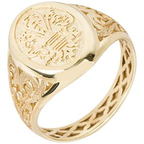 "Ring ""Lilie"" 585 Gelbgold"