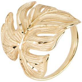 "Ring ""Tropen"" 585 Gelbgold ca. 6,3 g"