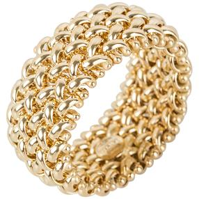 Ring flexibel 585 Gelbgold