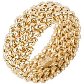 Ring flexibel 585 Gelbgold