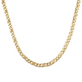 "Collier ""Dollar"" 585 Gelbgold"