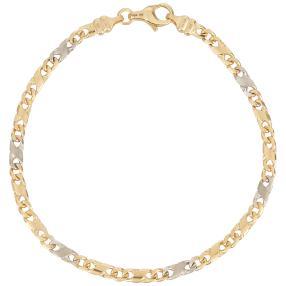 "Armband ""Dollar"" 750 Gelbgold"
