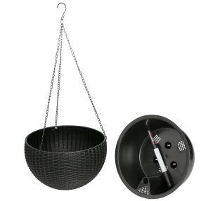Bewässerungstopf 26cm schwarz