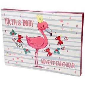 Adventskalender Flamingo