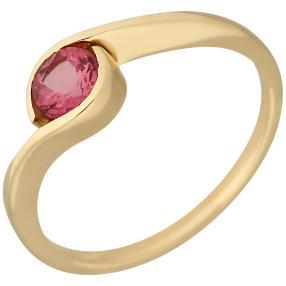 Ring 585 Gelbgold Turmalin pink
